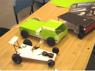 Kitesite Schools Solar Cars Models